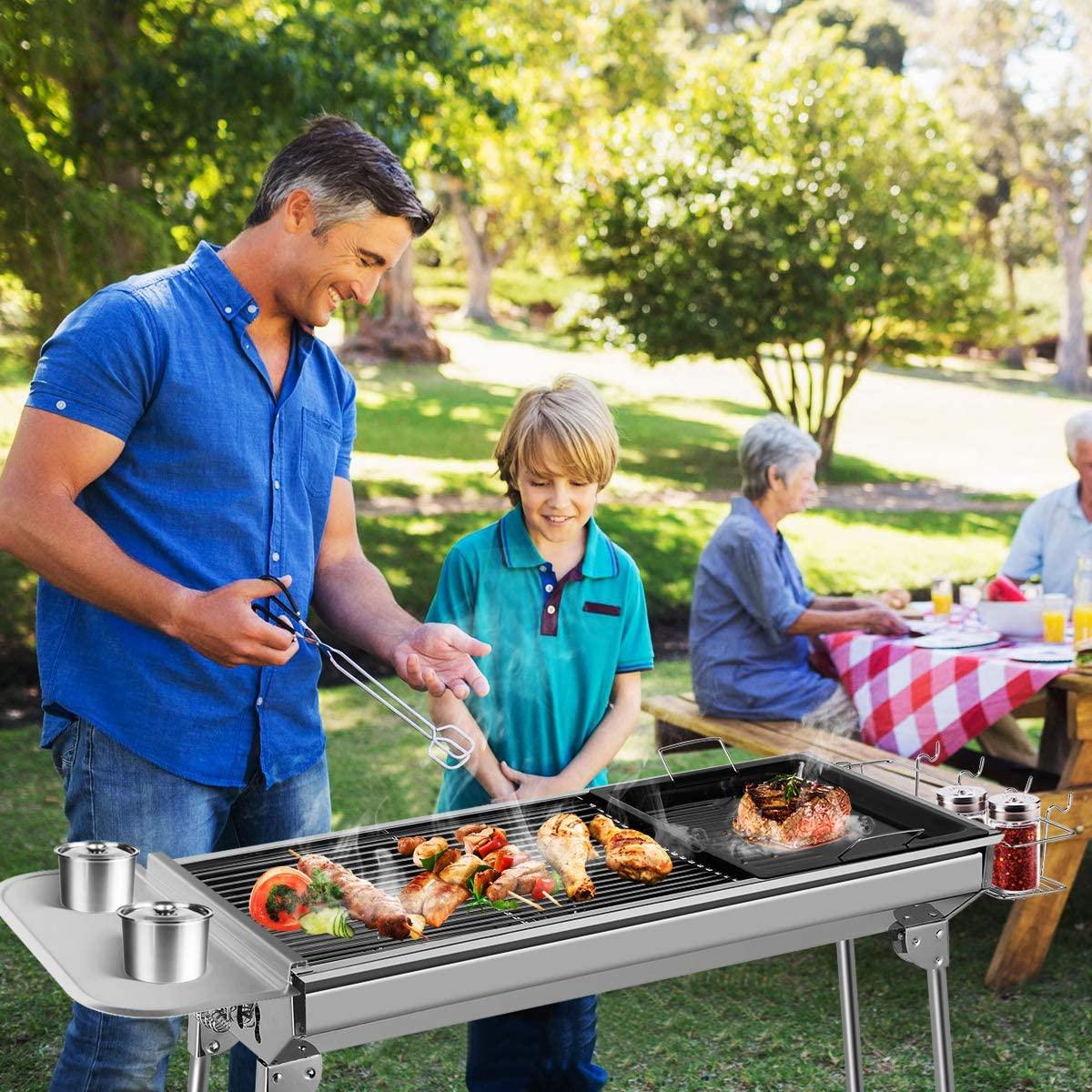 premier barbecue du printemps